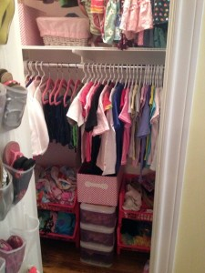 Bottom of girl's closet (after The Spruce Goose)