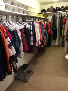 After The Spruce Goose organized a closet