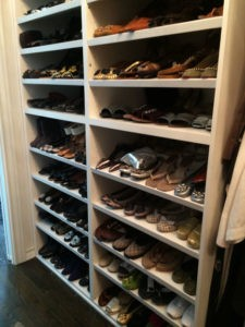 Shoes after The Spruce Goose organized.