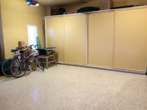 A garage after The Spruce Goose organized. Lots of space!