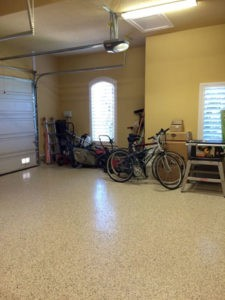 Garage after The Spruce Goose organized